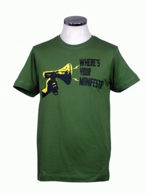 Manifesto t shirt