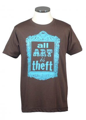 All Art is Theft Picasso t shirt