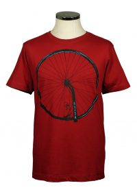 Back on your bike t shirt red