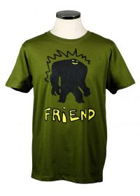 Friend t shirt department of works organic t shirt