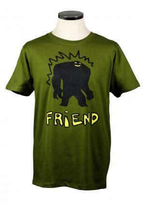 Friend t shirt department of works organic t shirt