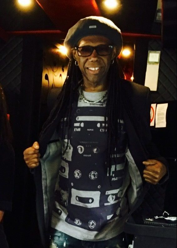 Nile Rogers tapes t shirt