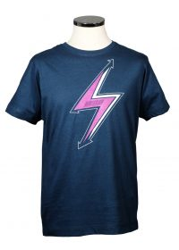 Lightning bolt Bowie tribute t shirt