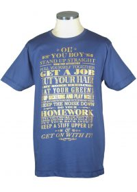 Io You Boy typography t shirt