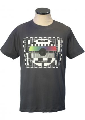 test card tee from Department of Works