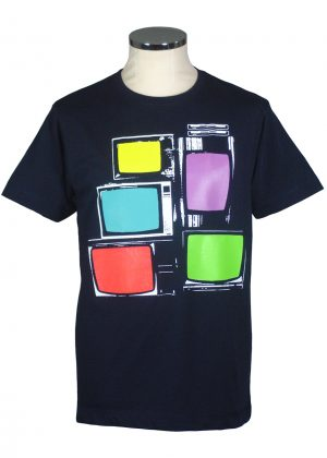 TV screen print t shirt Department of Works