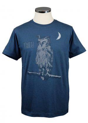 Twit Department of Works owl T shirt