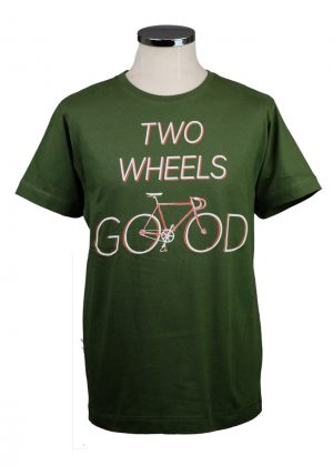 Two Wheels Good bike t shirt