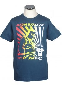 Welder t shirt department of works