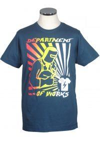 Welder t shirt department of works