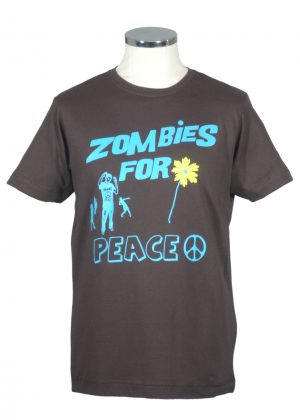 Zombies for Peace t shirt by Department of Works